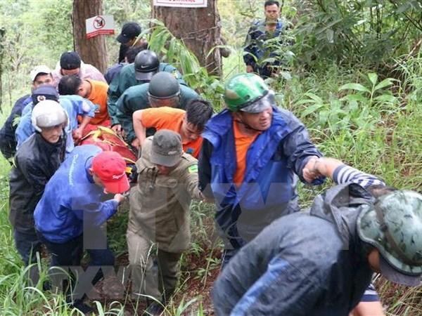 Lam Dong : un touriste sud-coreen mort lors d'une ascension de la cascade hinh anh 1