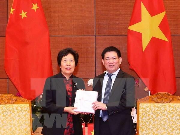 Les audits du Vietnam et de Chine renforcent leur partage d'experiences hinh anh 1