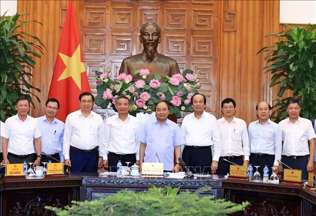 Le Premier ministre apprecie le projet de construction du port de Lien Chieu a Da Nang hinh anh 1