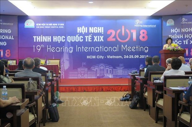 Seminaire international de l'audiologie a Ho Chi Minh-Ville hinh anh 1