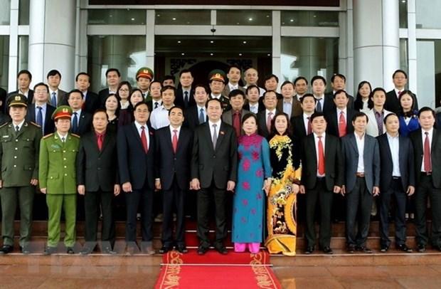 Le president Tran Dai Quang et ses sentiments accordes a Ninh Binh hinh anh 1