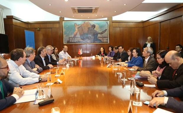 Le Vietnam et l'Argentine stimulent leur cooperation dans la sante hinh anh 1