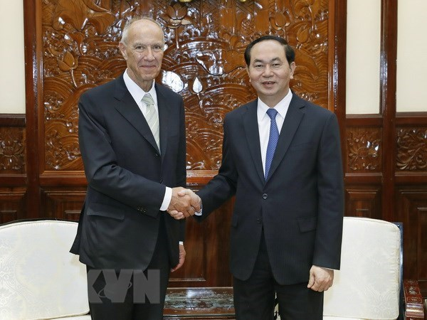 L'AG de l'OMPI reserve une minute de silence en l'honneur du president Tran Dai Quang hinh anh 1