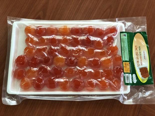 Exportation d'oeufs de canard sales vers l'Australie pour la premiere fois hinh anh 1