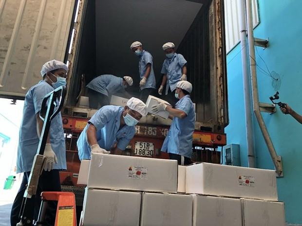 Exportation d'oeufs de canard sales vers l'Australie pour la premiere fois hinh anh 2