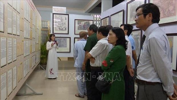 Exposition sur les archipels de Hoang Sa et Truong Sa a Phu Yen hinh anh 1