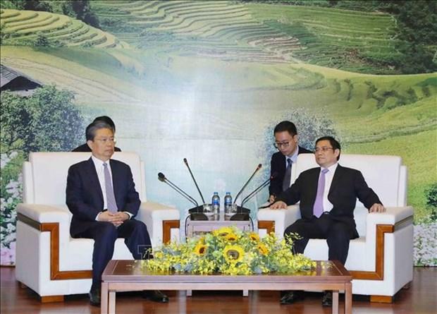 Vietnam-Chine: renforcement de la confiance politique entre les deux Partis communistes hinh anh 1