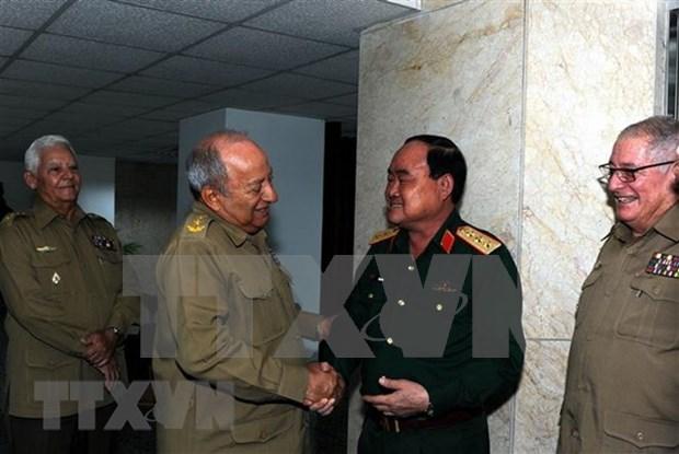 Les armees vietnamienne et cubaine renforcent leur cooperation economique hinh anh 1