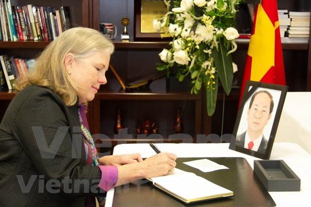 Des activites en memoire du president Tran Dai Quang aux Etats-Unis et au Chili hinh anh 1