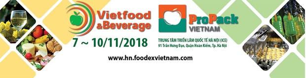 Bientot le salon VietFood & Beverage – ProPack 2018 a Hanoi hinh anh 1