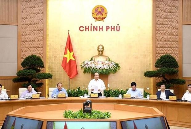 Reunion periodique de septembre du gouvernement : le PIB le plus eleve depuis 2011 hinh anh 1