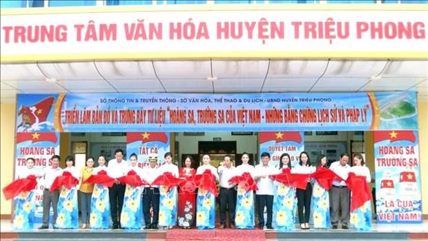 Exposition sur les archipels de Hoang Sa et Truong Sa a Quang Tri hinh anh 1
