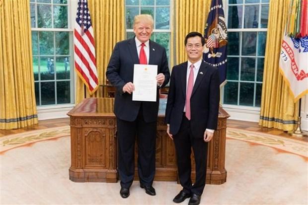 Les Etats-Unis s'engagent a respecter la voie de developpement du Vietnam hinh anh 1