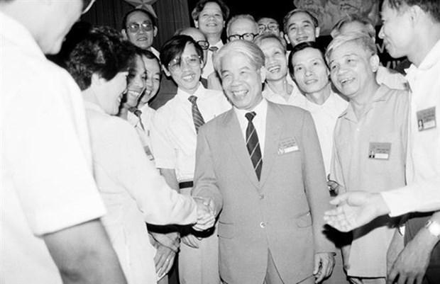 Secretaire general du PCV Do Muoi : un eleve digne du President Ho Chi Minh hinh anh 1