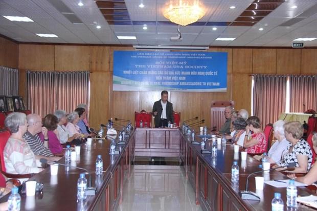 Promouvoir les relations d'amitie entre les peuples du Vietnam et d'autres pays hinh anh 1