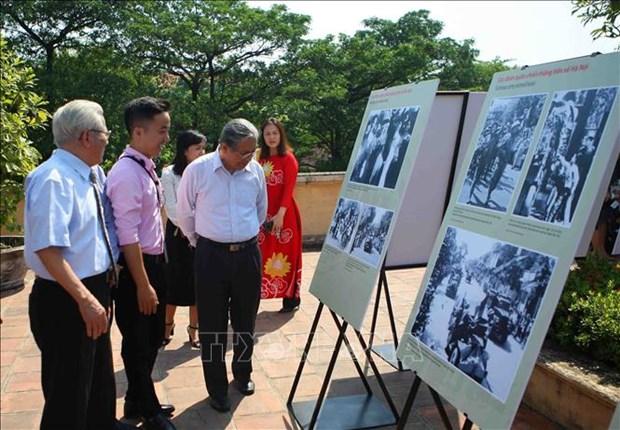 Exposition sur les moments de la liberation de la capitale en octobre 1954 hinh anh 1