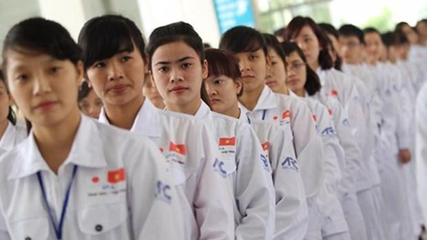 Plus de 102.000 travailleurs vietnamiens envoyes a l'etranger en 9 mois hinh anh 1