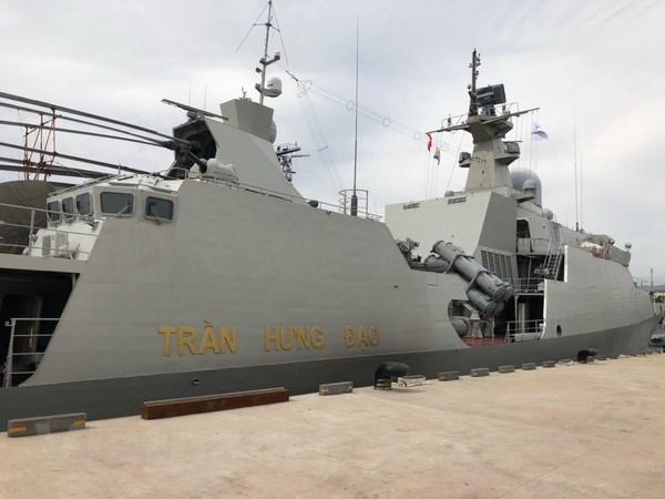 Le Vietnam participe a la revue internationale de la flotte a Jeju (R. de Coree) hinh anh 1