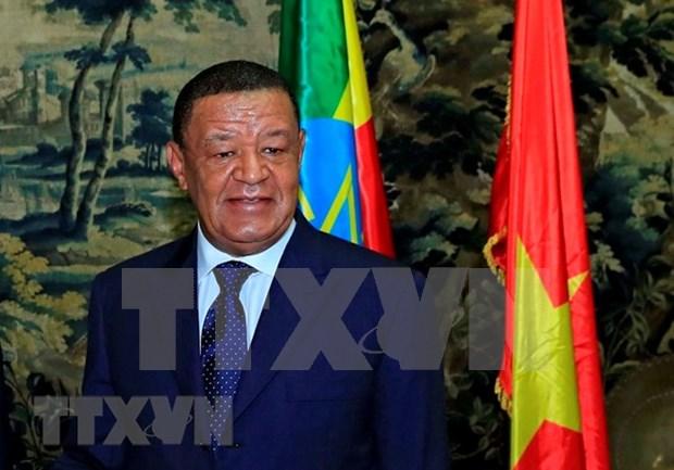 Le president ethiopien demande au Vietnam de rouvrir l'ambassade vietnamienne a Addis Ababa hinh anh 1