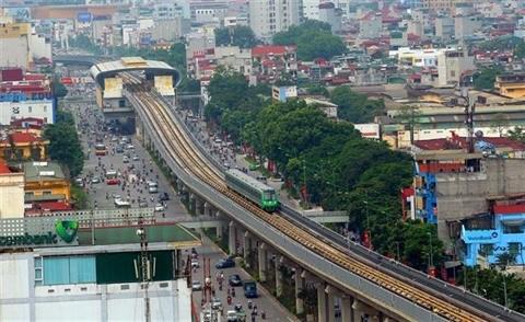 Hanoi disposera de dix lignes ferroviaires urbaines en 2050 hinh anh 1