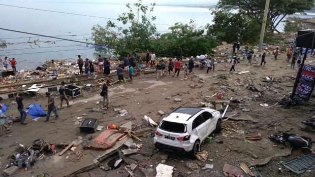 Un nouveau seisme frappe l'Indonesie hinh anh 1