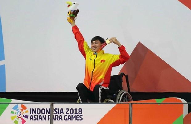 Asian Para Games 2018 : grande reussite de la delegation vietnamienne hinh anh 1