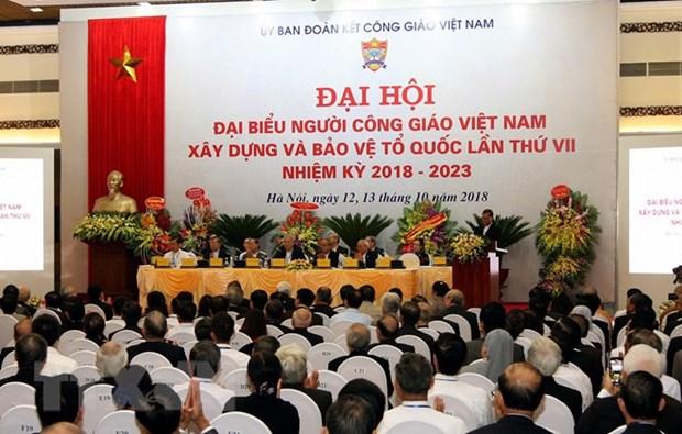 7e Congres des catholiques vietnamiens edifiant et defendant la Patrie hinh anh 1