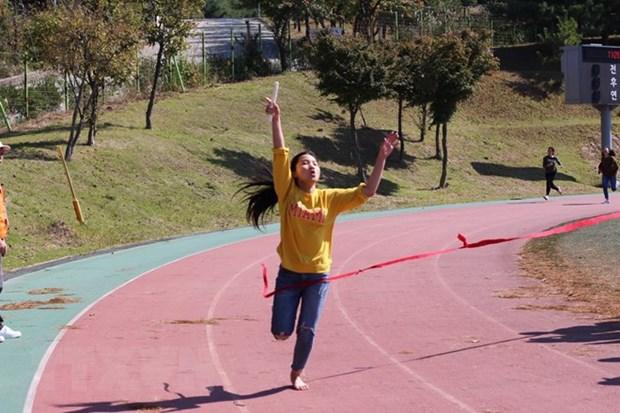 Le congres de l'education physique et des sports unit les Vietnamiens en R. de Coree hinh anh 1