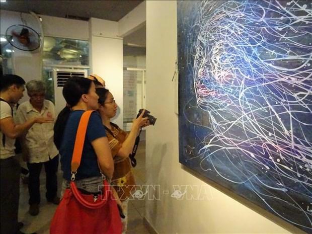 Ouverture de l'exposition de beaux-arts franco-vietnamienne