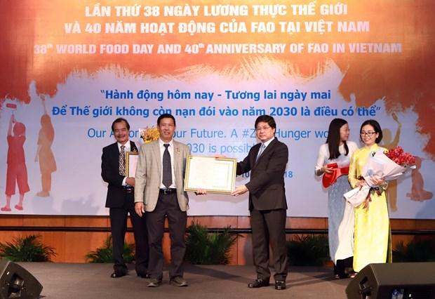 Le Vietnam pret a partager ses experiences dans la garantie de la securite alimentaire hinh anh 1