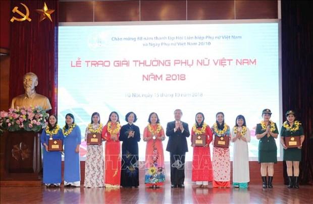 Femmes : des collectifs et des individus exemplaires a l'honneur hinh anh 1