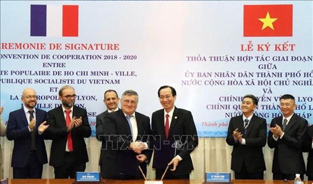 Intensification de la cooperation entre Ho Chi Minh-Ville et Lyon (France) hinh anh 1