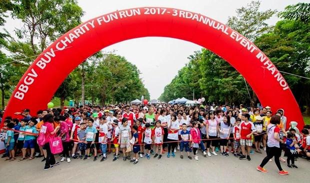 L'ambassadeur du Royaume-Uni participera a la BBGV Charity Fun Run 2018 a Hanoi hinh anh 1