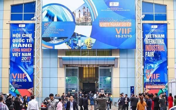 Bientot la Foire industrielle internationale du Vietnam 2018 a Hanoi hinh anh 1