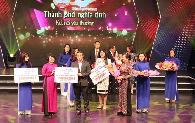 Ho Chi Minh-Ville : pres de 40 milliards de dongs en faveur du fonds