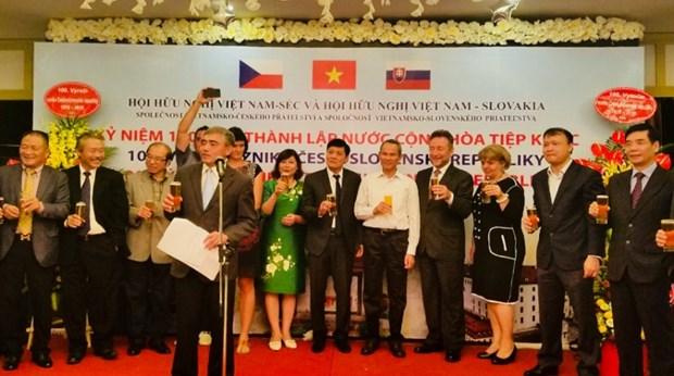 Le centenaire de la Tchecoslovaquie celebre dans la capitale vietnamienne hinh anh 1