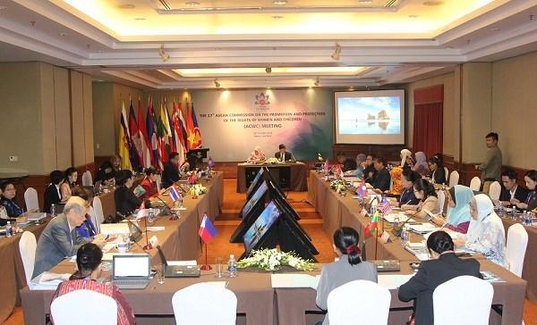 ASEAN : La 17e reunion de l'ACWC s'acheve sur une bonne note hinh anh 1