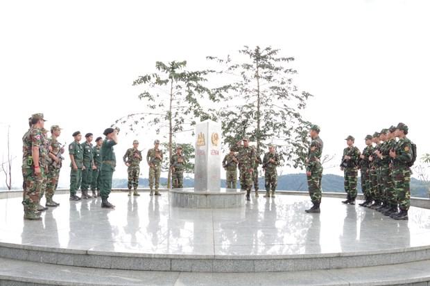 Bientot l'echange d'amitie frontaliere Vietnam-Laos-Cambodge hinh anh 1