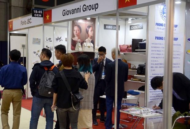 Neuf entreprises vietnamiennes au Salon international de la mode Tokyo Big Sight hinh anh 1