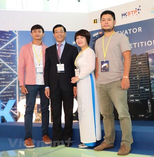 Un start-up vietnamien dans le top 10 de l'Elevator Pitch Competition Hong Kong 2018 hinh anh 1