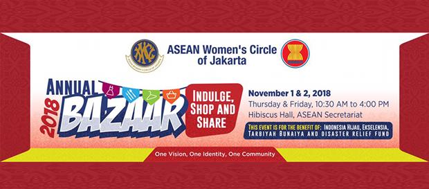 Ouverture du Bazar 2018 du Cercle des femmes de l'ASEAN a Jakarta hinh anh 1