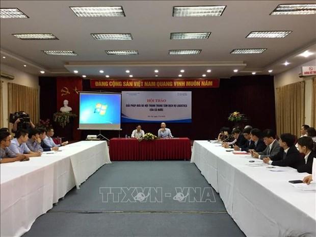 Hanoi est appelee a devenir un hub de logistique du Vietnam hinh anh 1
