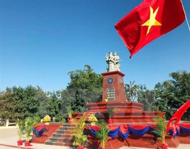 Un monument de l'amitie Vietnam-Cambodge inaugure a Rattanakiri hinh anh 1