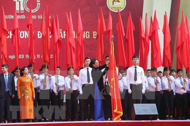 Le lycee Chu Van An decore de l'Ordre de l'Independance hinh anh 1