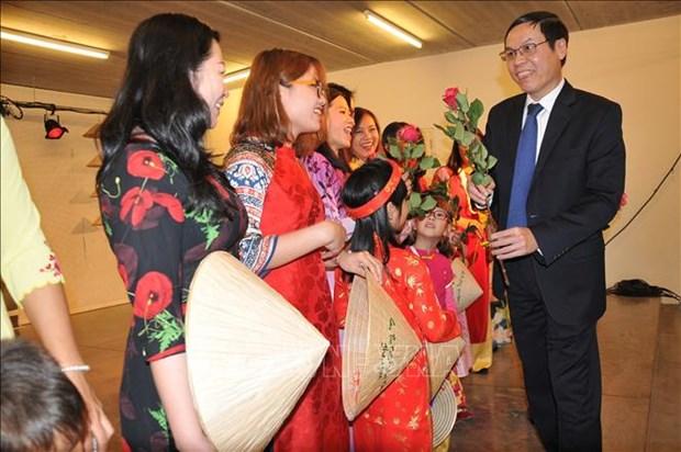 Journee de la famille vietnamienne a Bruxelles hinh anh 2