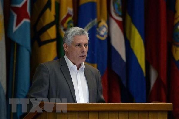 Le president du Conseil d'Etat de Cuba effectuera une visite officielle au Vietnam hinh anh 1