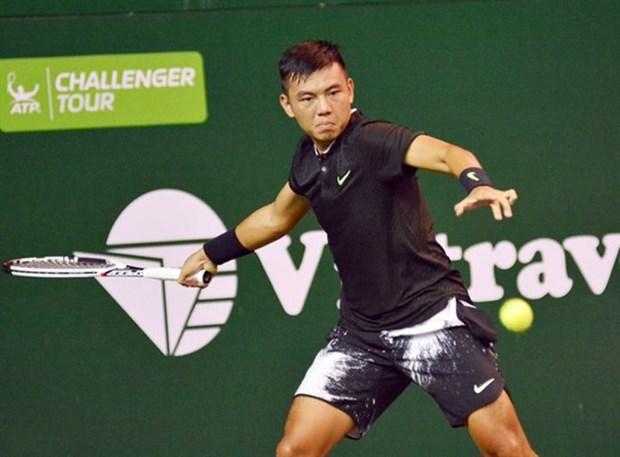 Tennis: Ly Hoang Nam termine deuxieme au tournoi F5 Futures – Hai Dang Coupe 2018 hinh anh 1