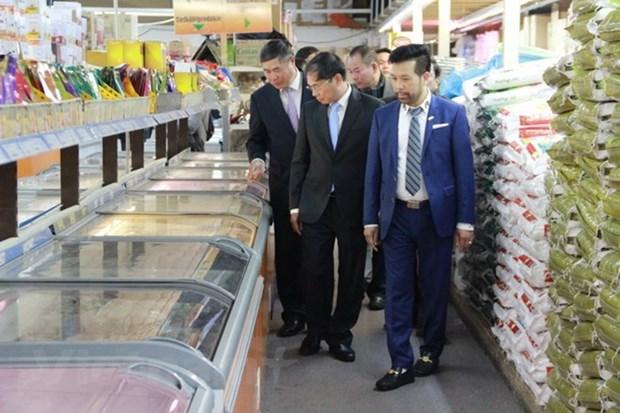 Le vice-ministre permanent des AE rencontre des residents vietnamiens en Allemagne hinh anh 1