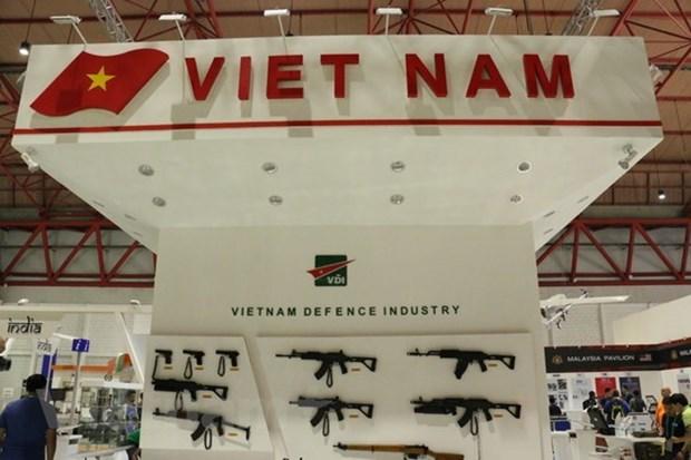 Le Vietnam participe a une exposition sur la defense en Indonesie hinh anh 1