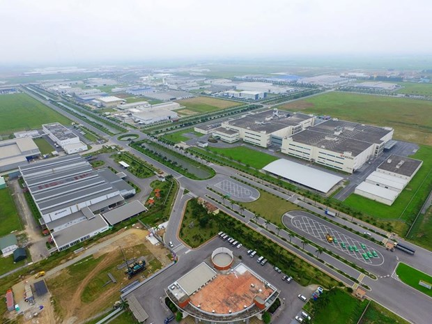 Vinh Phuc : Inauguration de la premiere phase de la zone industrielle Thang Long hinh anh 1